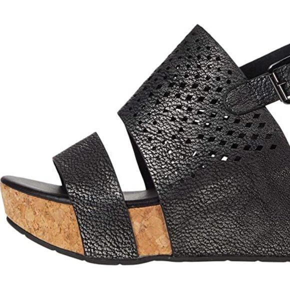 Platform Sandals - Pewter